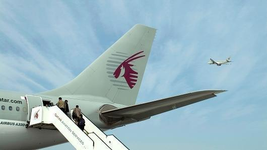 هواپیمایی قطر در ایران می ماند