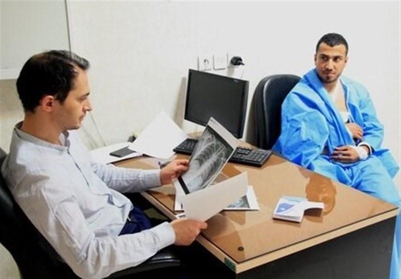 عضو کمیته درمان فدراسیون پزشکی ورزشی: مصدومیت دانشور با آتل بهبود پیدا می نماید