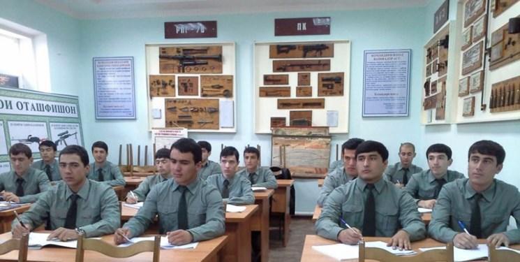 افتتاح مدرسه نظامی کوروش کبیر در تاجیکستان