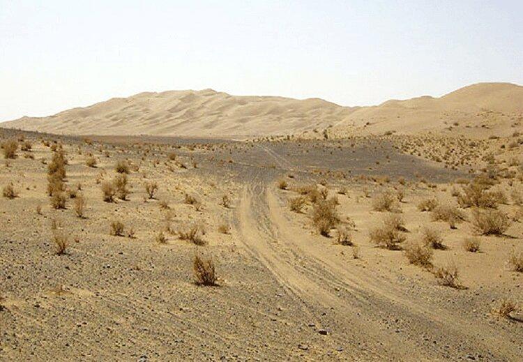 مبارزه با گسترش بیابان در سیستان و بلوچستان