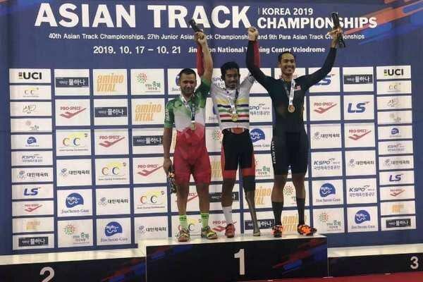 مدال نقره ایران در مسابقات دوچرخه سواری پاراآسیایی