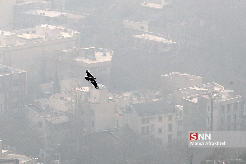 آلودگی هوا در نخستین روز زمستان